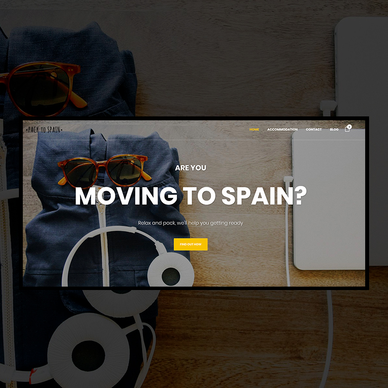 Proyecto Pack to Spain